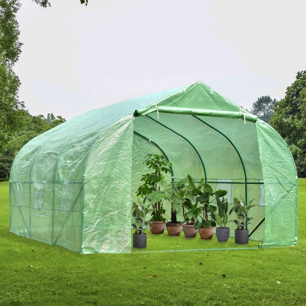 carpa invernadero, jardineria, cultivar